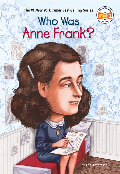 Who What Where Who Was Anne Frank? Paperback Book