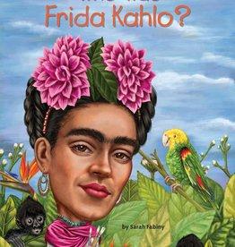 Who Was Frida Kahlo? Paperback Book