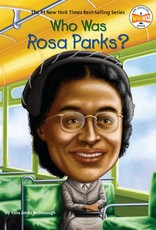 Who What Where Who Was Rosa Parks? Paperback Book
