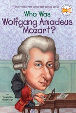 Who What Where Who Was Wolfgang Amadeus Mozart? Paperback Book