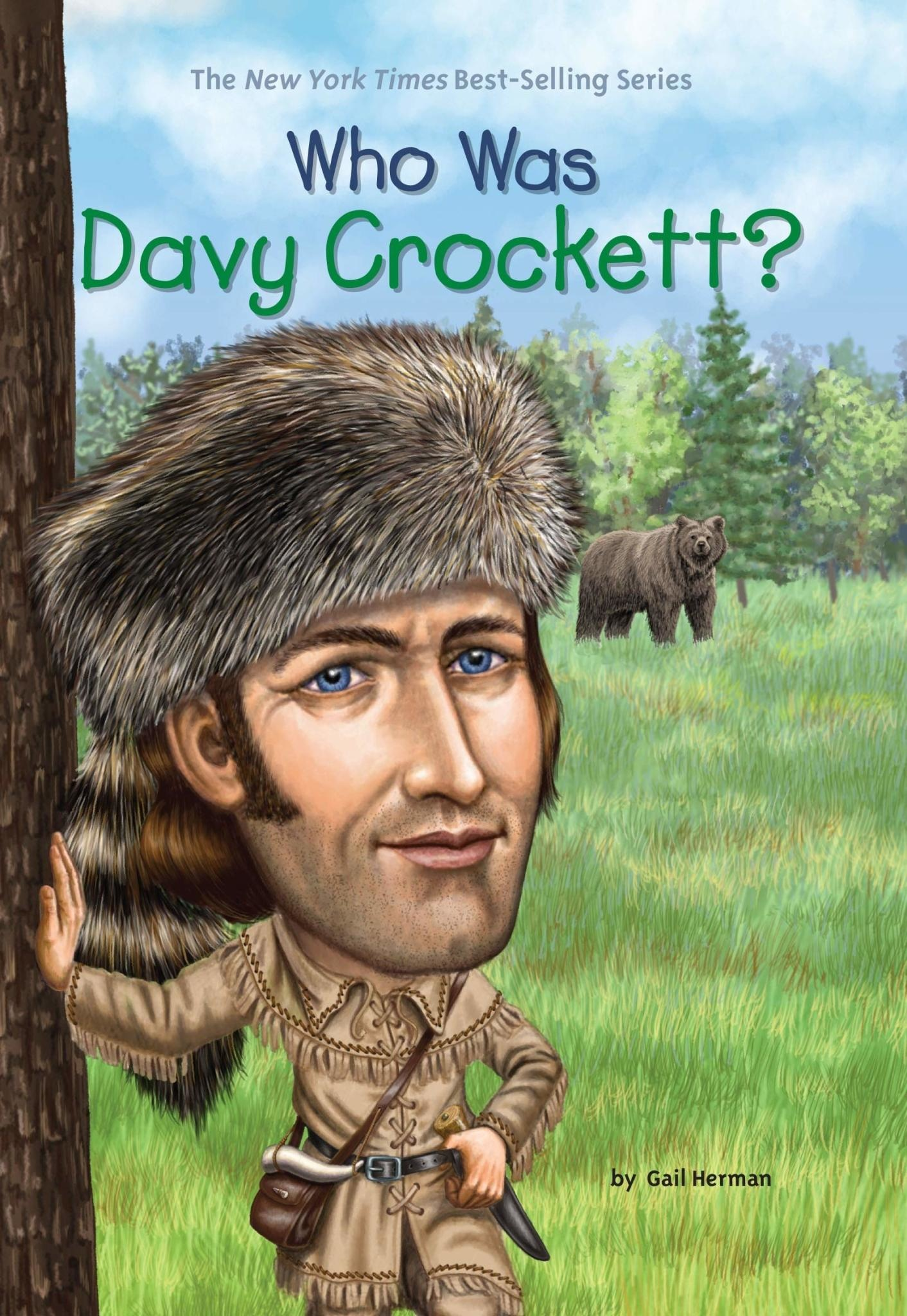 Who Was Davy Crockett? Paperback Book