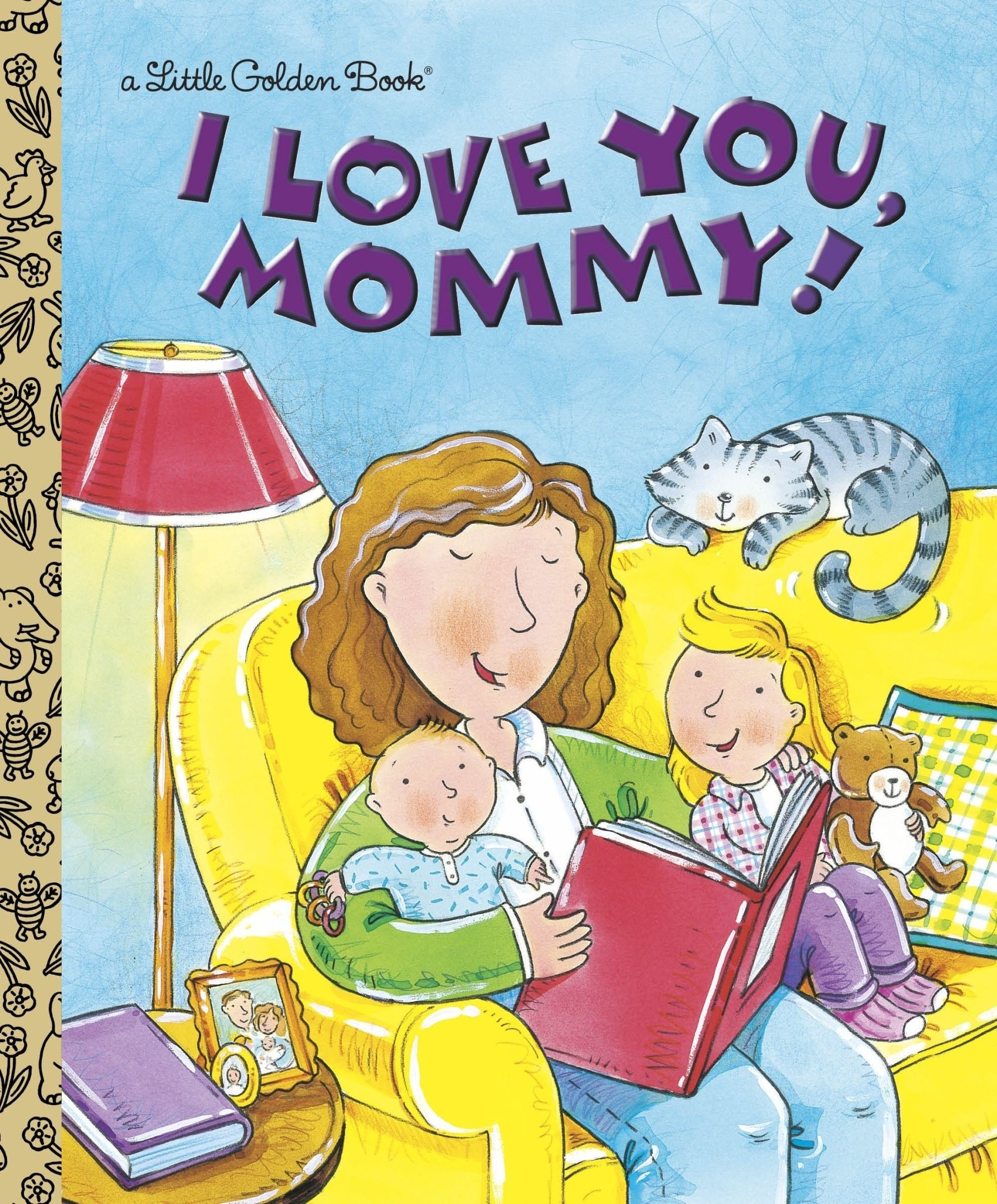 I Love You Mommy - Little Golden Book