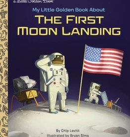 First Moon Landing - Little Golden Book