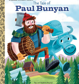 The Tale Of Paul Bunyan - Little Golden Book