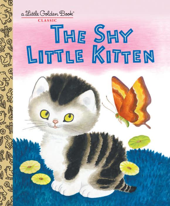 The Shy Little Kitten - Little Golden Book