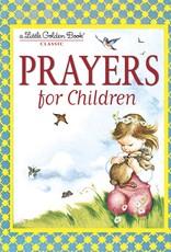 Prayers For Little Chldren - Little Golden Book