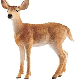 White-tailed Doe Figure by Schleich