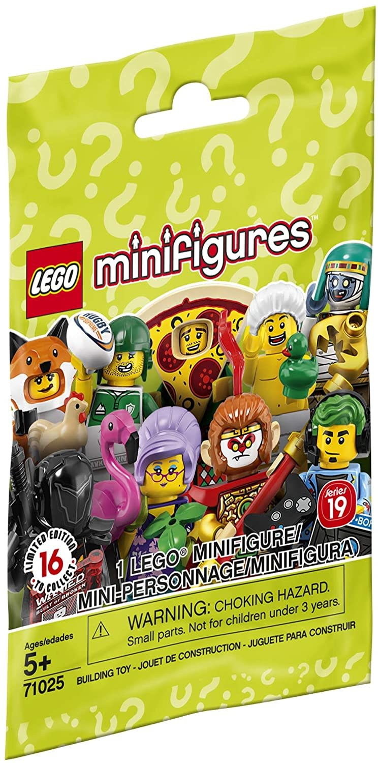 71025 Minifigures Series 19 by LEGO