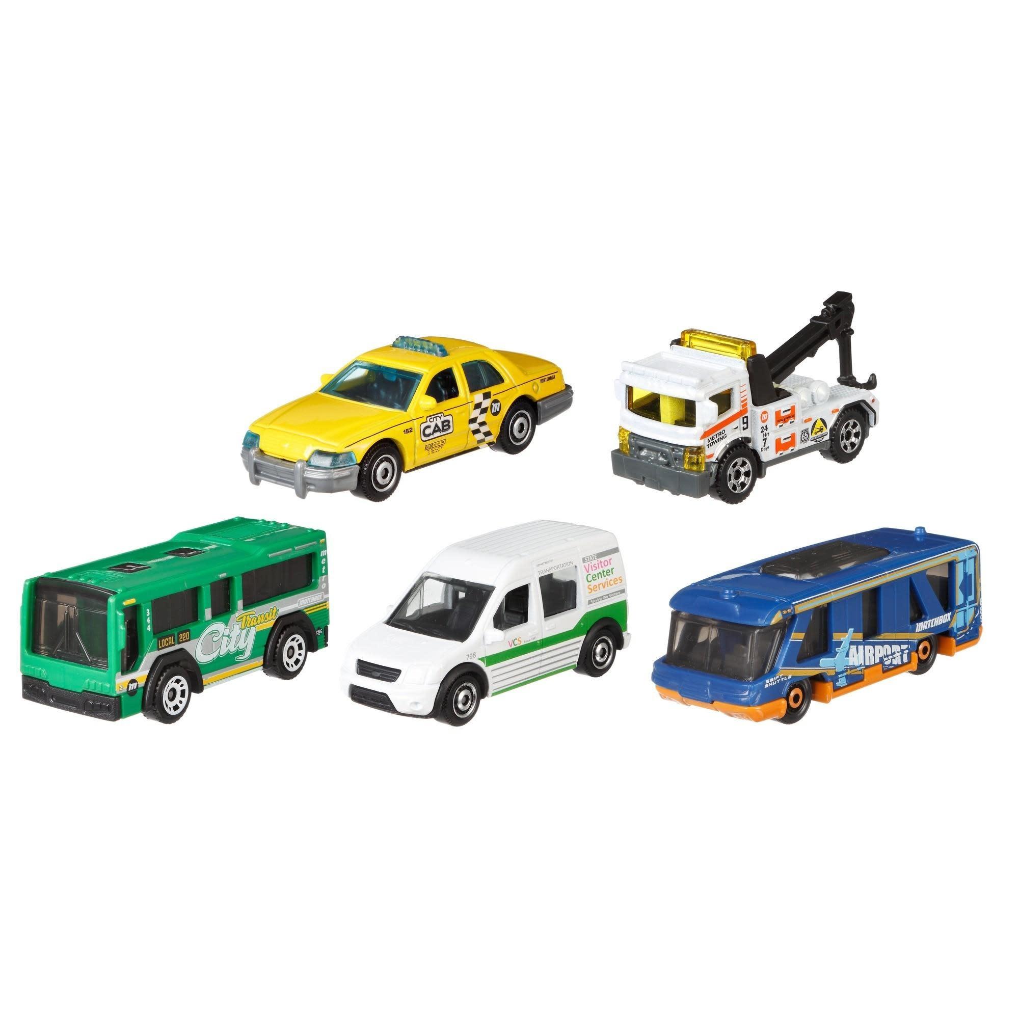 Matchbox Vehicle 5-pack Set by Mattel