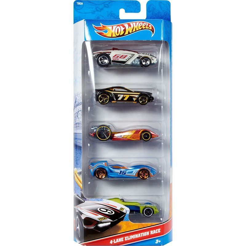 Hot Wheels 5-Car Pack by Mattel - assorted
