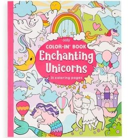 Enchanting Unicorns Coloring Book by Ooly