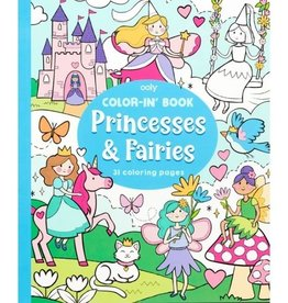Princesses & Fairies Coloring Book by Ooly
