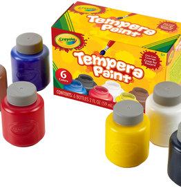 Tempura Paint Set by Crayola - 6 2oz bottles