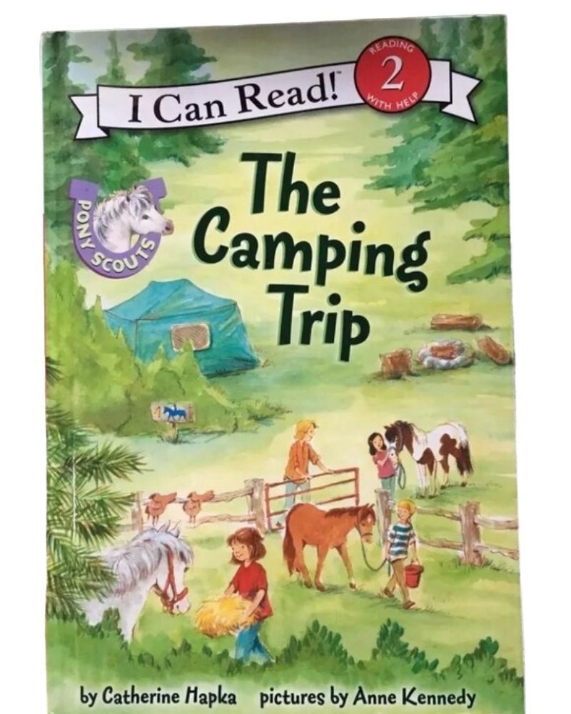 Pony Scouts: The Camping Trip - I Can Read Level 2