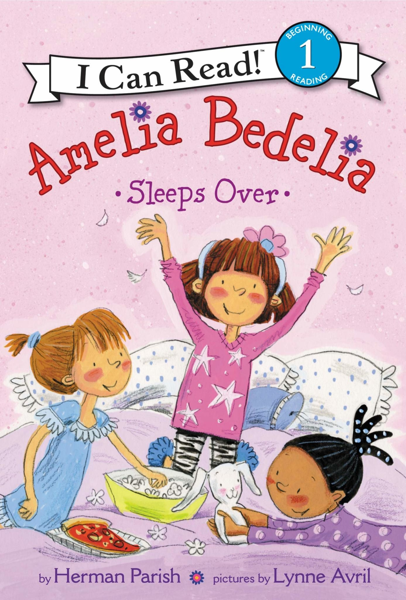 Amelia Bedelia Sleeps Over - I Can Read (Level 1)