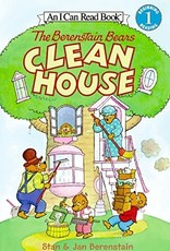 The Berenstain Bears Clean House - I Can Read (Level 1)