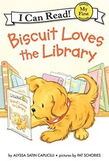 Biscuit Loves the Library - I Can Read (My First)