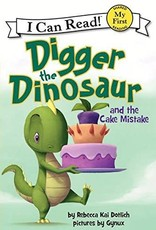 Digger The Dinosaur and The Cake Mistake - I Can Read (My First)
