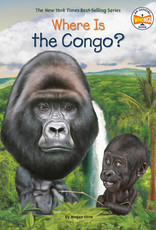 Where Is The Congo? Paperback Book