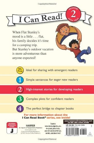 Flat Stanley Goes Camping - I Can Read (Level 2)