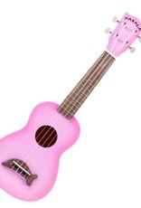 Makala Dolphin Pink Burst Soprano Ukulele by Kala Music