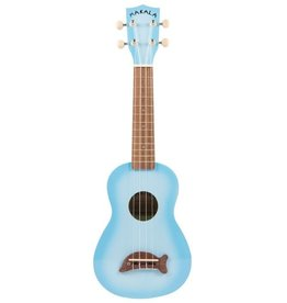 Makala Dolphin Light Blue Burst Soprano Ukulele