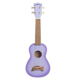 Makala Dolphin Purple Burst Soprano Ukulele by Kala Music