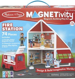 Magnetivity  Fire Station Set by Melissa & Doug