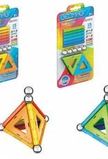 Geomag Rainbow 15-pc Set