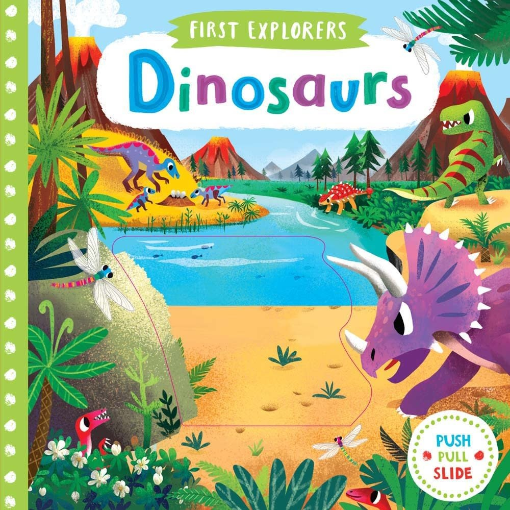First Explorers Dinosaurs Board Book
