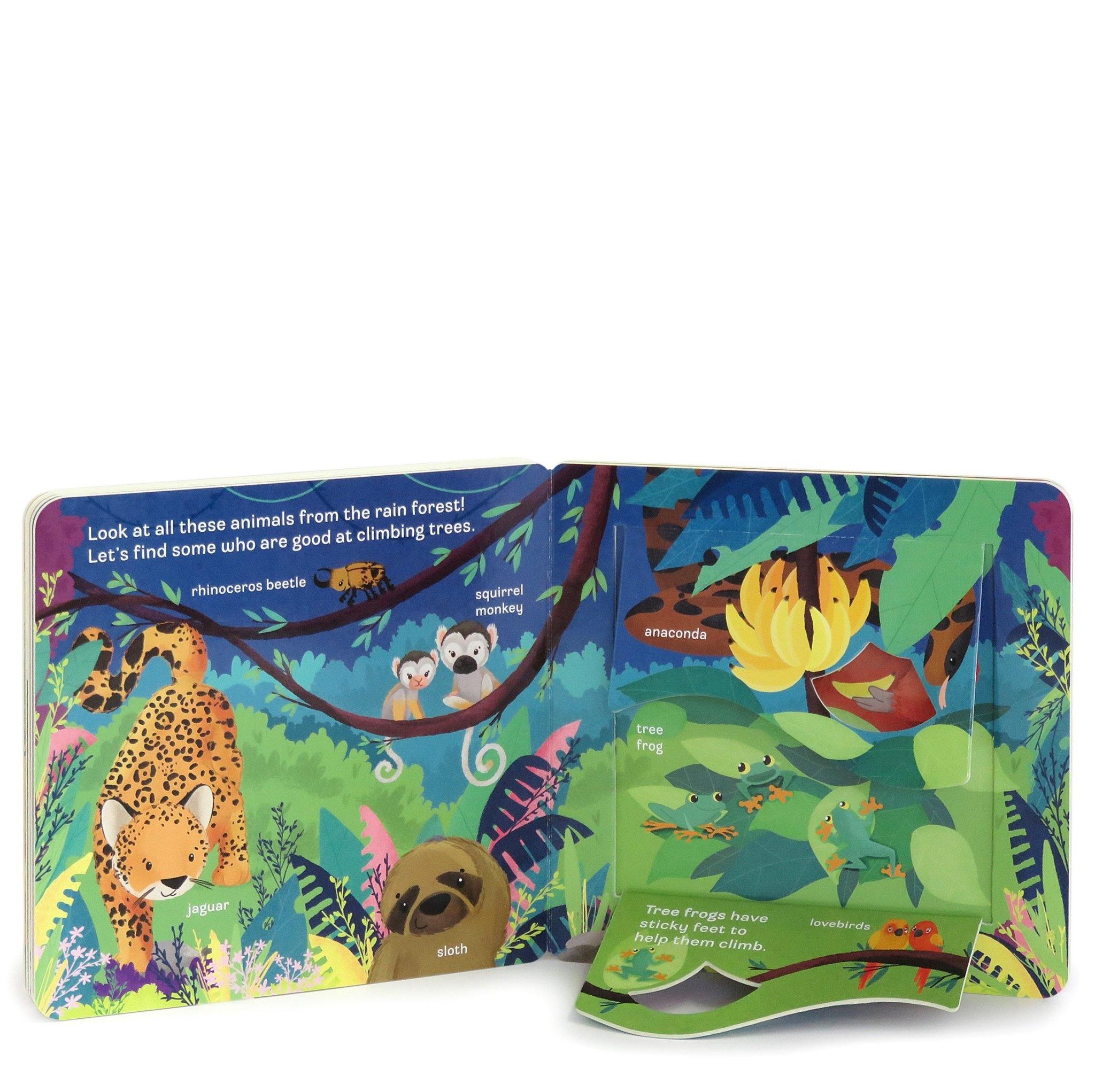 Peek-A-Flap: Zoo Board Book