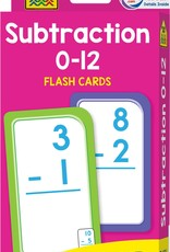 Flash Cards: Subtraction by School Zone Publishing