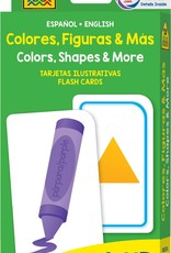 Flash Cards: Colors, Shapes, & More (Bilingual) by School Zone Publishing