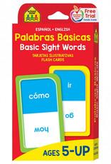 Flash Cards: Sight Words (Bilingual) by School Zone Publishing