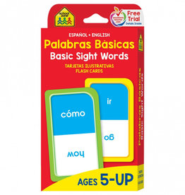 Flash Cards: Sight Words (Bilingual) by School Zone Publishing