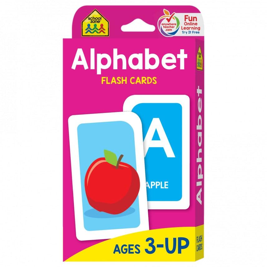Flash Cards: Alphabet by School Zone Publishing