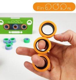 FinGears - Orange/Blue Small