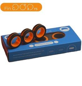 FinGears Black/Orange Large