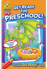 Get Ready for Preschool Workbook by School Zone