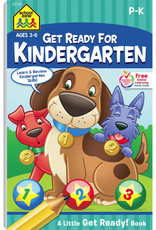 Get Ready for Kindergarten Workbook by School Zone
