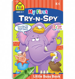 My First Try-N-Spy Busy Book by School Zone