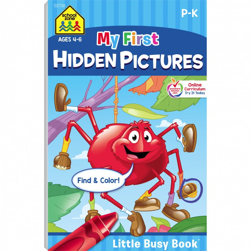 My First Hidden Pictures Busy Book by School Zone