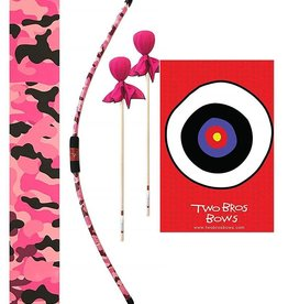 Two Bros Bows Two Bros Bows Archery Set - Pink Camo