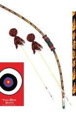 Two Bros Bows Two Bros Bows Boxed Archery Set - Flames