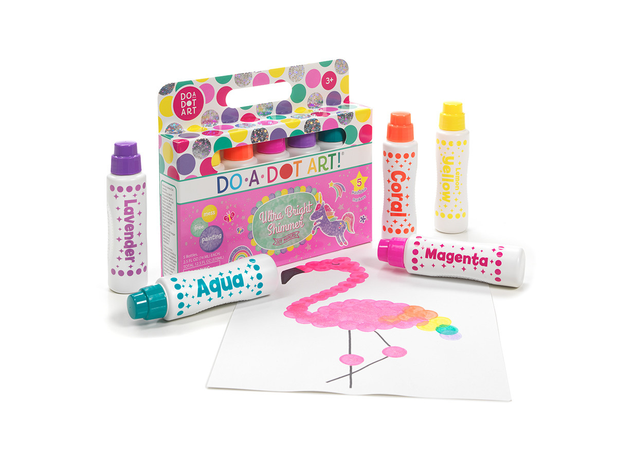 Do-A-Dot 5 Pack Ultra Bright Shimmer Markers