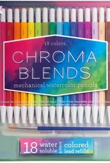 Chroma Blends 18 Mechanical Watercolor Pencils by Ooly