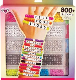 Fashion Angels Tell Your Story Large Alphabet Bead Case by Fashion Angels