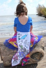 Mermaid Color-A-Skirt by Great Pretenders