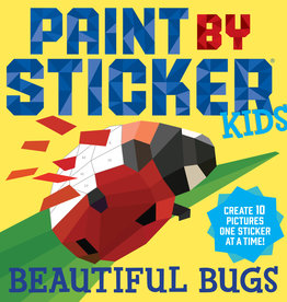 Paint by Sticker Kids Workbook - Beautiful Bugs