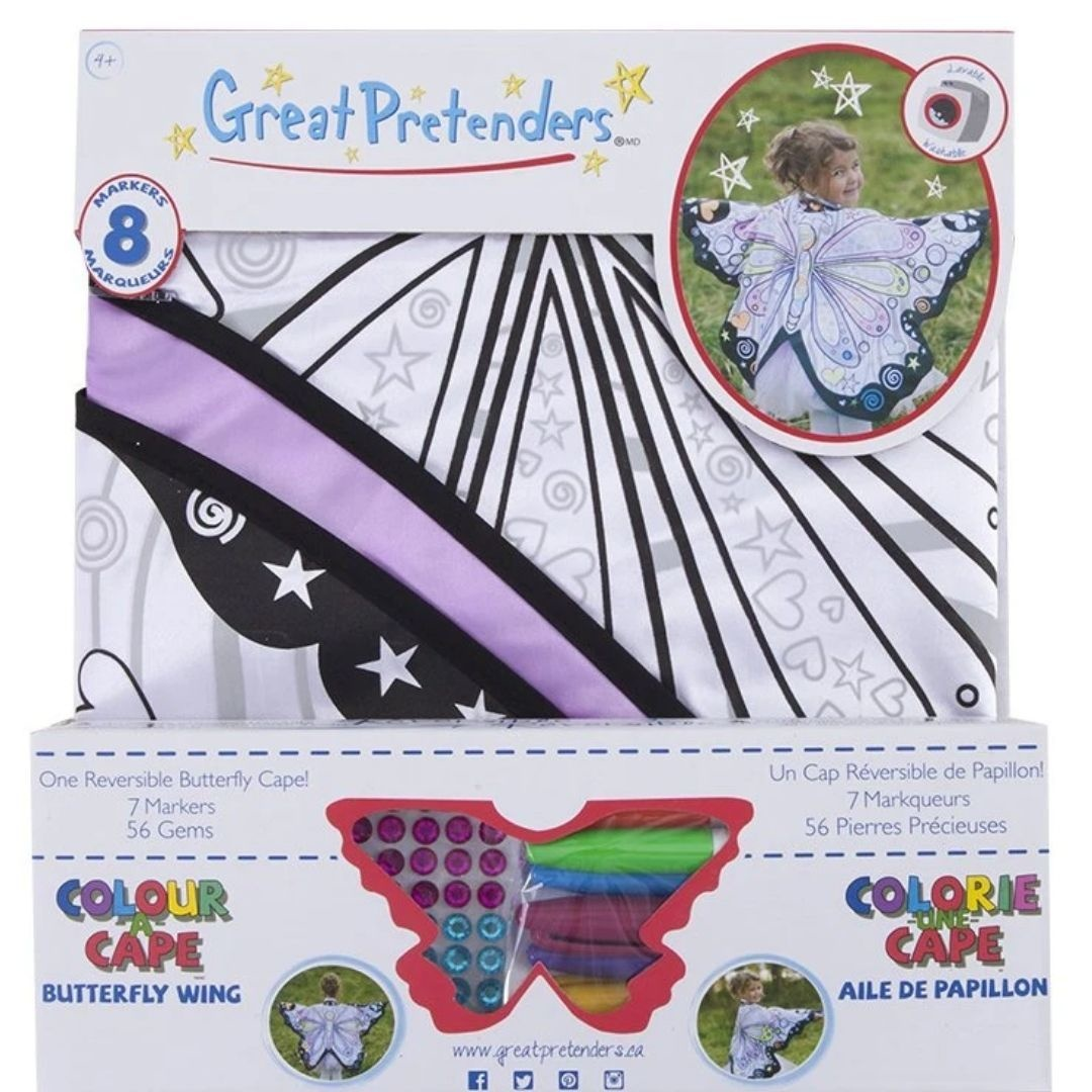 Color-A-Cape Butterfly Wings by Great Pretenders